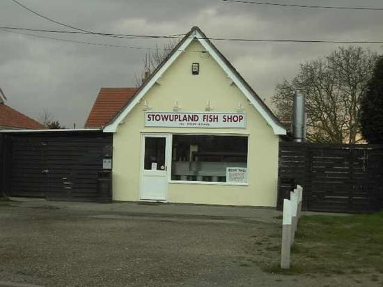 Stowupland Fish Shop: Add a caption