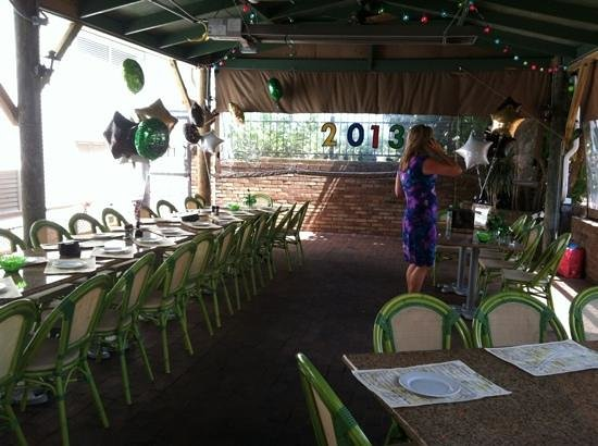 The Mansion: Graduation party