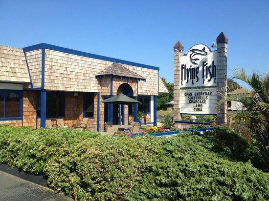 Flying Fish Cafe & Wine Bar: Outside