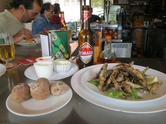 Bar Restaurante La Taberna del Puerto: Sardinas Fritas