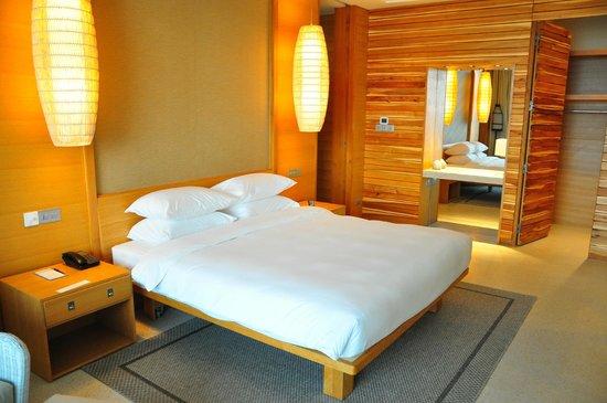 ไฮแอตรีเจนซี่ดานังรีสอร์ทแอนด์สปา: nice bed