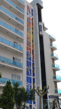 GHT Hotel Maritim : le fameux ascenseur