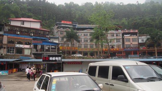 China and Vietnam Friendship Pass: Small township