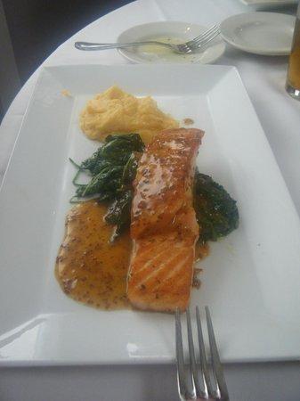 Ristorante La Locanda: you can count on well prepared salmon