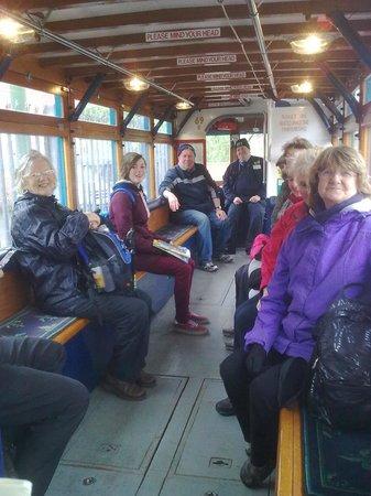 Wirral Transport Museum: Tram ride