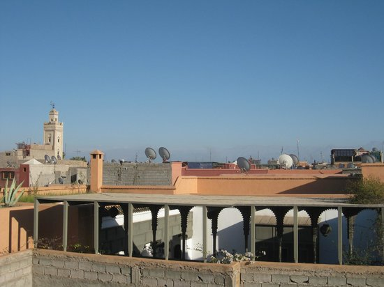 Dar Abiad: view from roof terrace