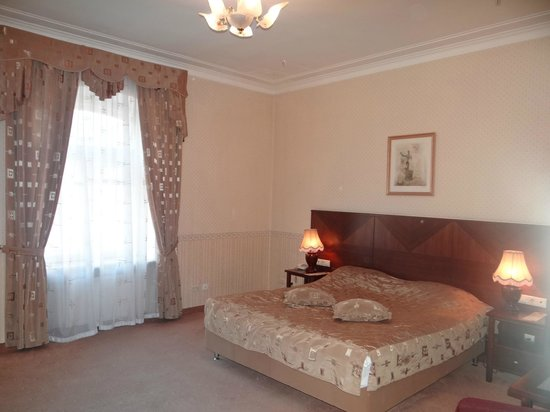 Budapest Hotel : Large room, old decor