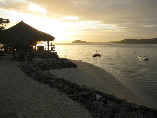 Coral Bay Beach & Dive Resort: Udsigt fra balconen