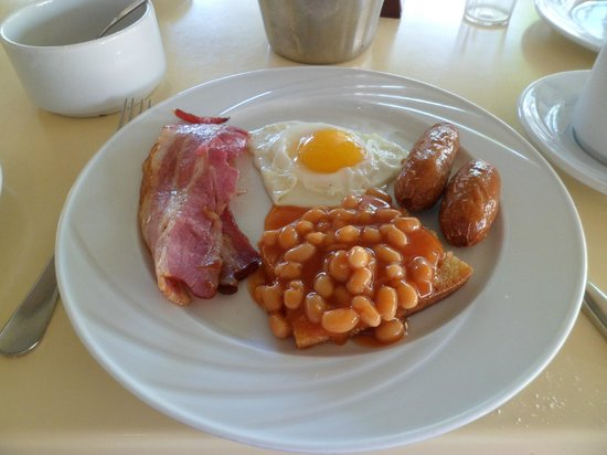 Tasia Maris Gardens Apartments : Cooked breakfast, delicious.