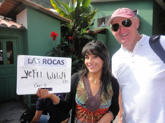 Hostal Las Rocas: is that my name??