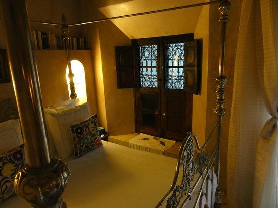 Riad Samsara: chambre jaracanda