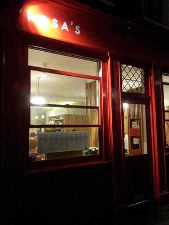 Rosa's Thai Cafe Spitalfields: Devanture