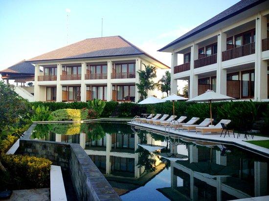 Sahaja Sawah Resort: hotel view