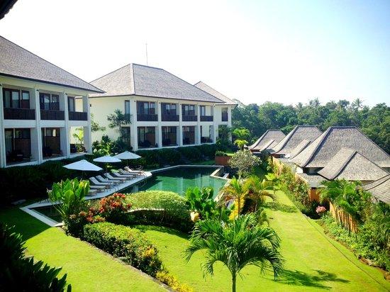 Sahaja Sawah Resort: villa view