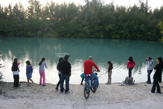 Cabins at Oleta River State Park: :)