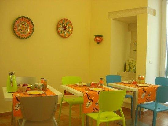 B&B Giovinazzo: Sala colazione