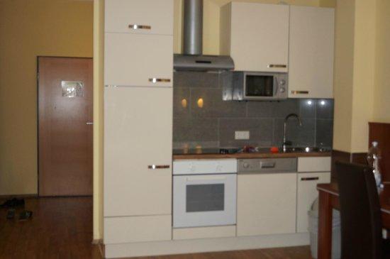 Hotel Verdi : кухня