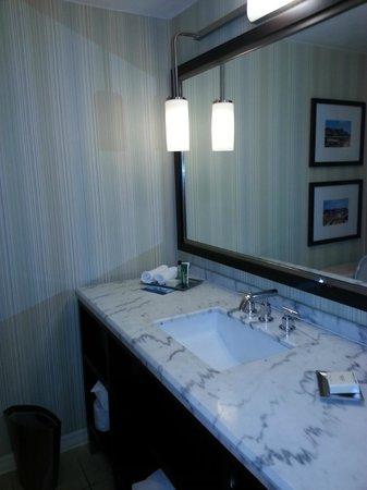 Hilton St. Louis Airport: Bathroom