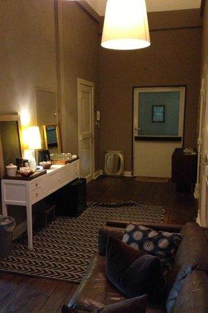 Hadley's: Hotelflur
