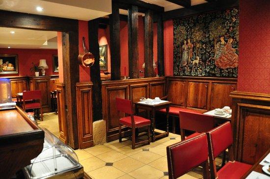 Left Bank Saint Germain: Breakfast Room