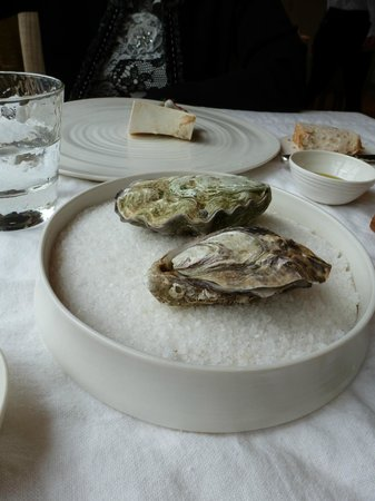 De Tuinkamer: The gin and tonic oysters