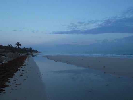 Playas del Este: Petit matin du 29 avril 2012 à 7h00.