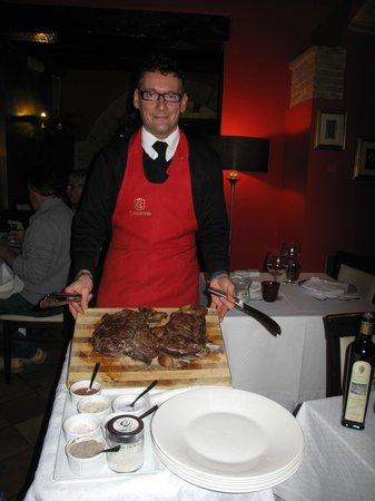 Ristorante Coccorone: Personale gentilissimo e bistecca tenerissima, cottura al punto giusto.