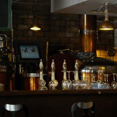 The brewing equipment - Picture of The Biere Club, Bengaluru
