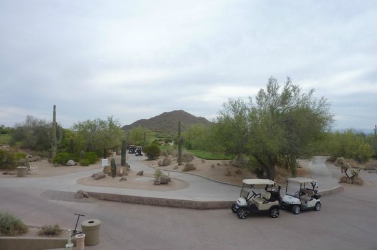 Las Sendas Golf Club: View of golf course from the club house