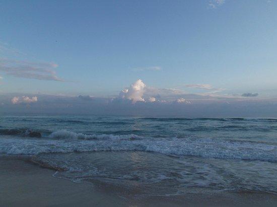 Playas de Este: Au petit matin du 29 avril 2012 à 7h23.