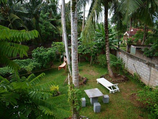 Handagedara Resort: le jardin vu de la chambre