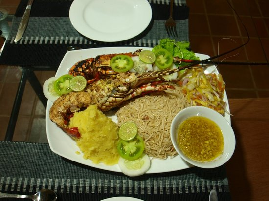 "Handagedara Resort : ""jumbo prawn"""