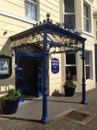 Foyles Hotel : Entrance