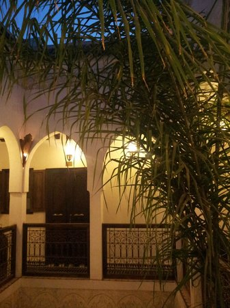 Riad Aguaviva : Patio interior