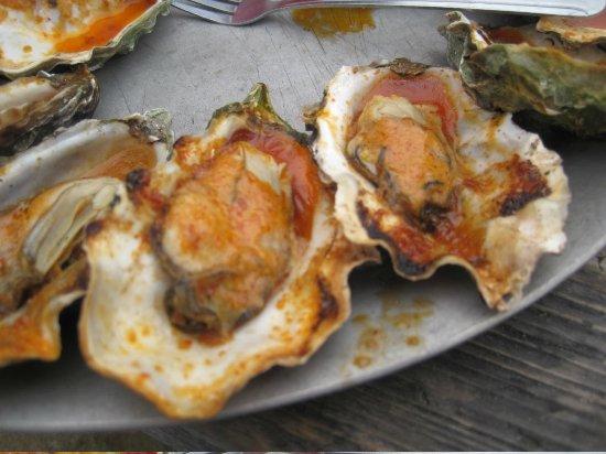 Hog Island Oyster Company: BBQ Oysters