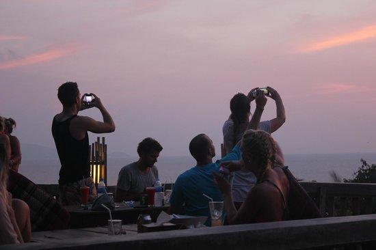 Sunset at Thongyang Seaview Restaurant and Lounge Bar,27/3/2013