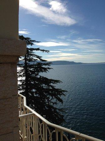 Grand Hotel Gardone : Blick nach Norden
