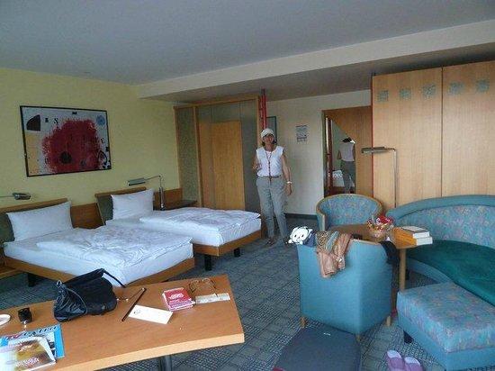 ABACUS Tierpark Hotel : nuestra suite