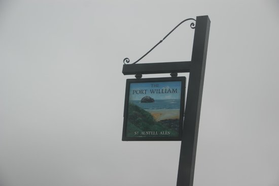 Port William Inn: Inn sign