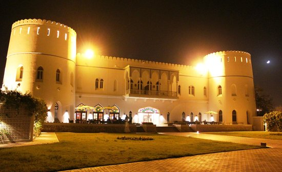 Sohar Beach Hotel : The view of the hotel