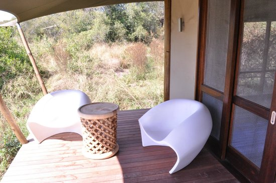 andBeyond Ngala Tented Camp : Terrace