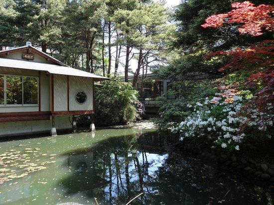 Matsusaki: 庭園