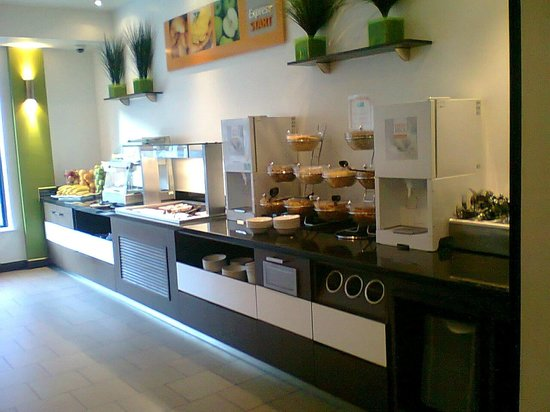Holiday Inn Express London Stratford: Simple fare