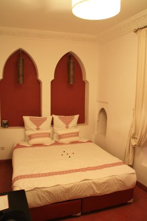 Riad Mirage: chambre passion