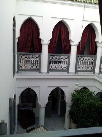 Riad Mirage: couloir
