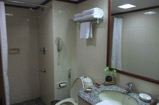 Casino Hotel: Simple bathroom