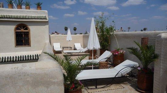Riad Granvilier: Terrasse du Riad