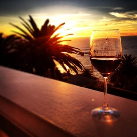 Ellerman House: View from our balcony