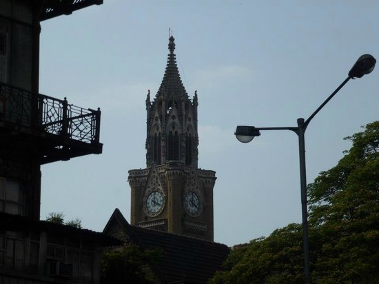 Rajabai Clock Tower : The clock tower.