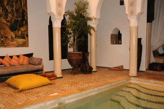 Riad Andalouse: The main Patio